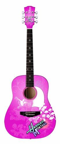 Disney Hannah Montana Pink Acoustic 3/4 Sized Guitar アコースティックギター アコギ ギター (並行輸入) B0019ZWL2U