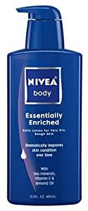 Nivea Essentially Enriched Body Lotion for Very Dry Skin, 13.5 Fluid Ounce
