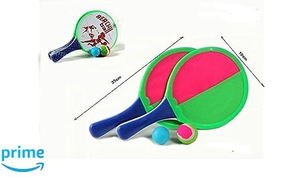 TOYLAND 41343 Raquetas Velcro con Pelota: Amazon.es: Juguetes y juegos