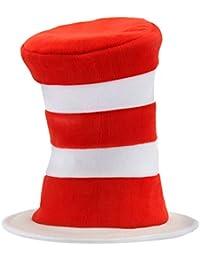 52ef04c31af Dr Seuss Cat in the Hat Deluxe Velboa Hat