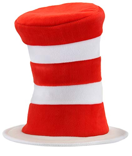 elope Dr. Seuss Cat in the Hat Deluxe Velboa Hat ()