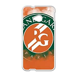 HTC One M7 case , French open french open 2015 roland garros tennis HTC One M7 Cell phone case White-YYTFG-19314