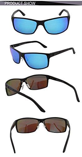 sol Negro Gafas de hombre Duco para nqwRxOExY