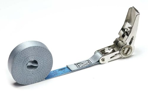 5 m Tie Down 25mm width x Length 16,4 ft PONSA INOX Endless Ratchet Strap 027042025503 .long