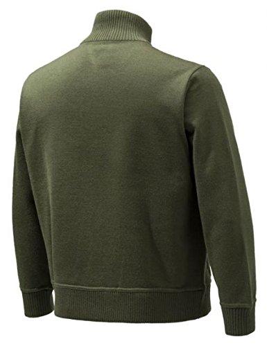 Beretta BEPU421T12010715M Techno windshield Half Zip Jacket, Green, Medium by Beretta (Image #1)