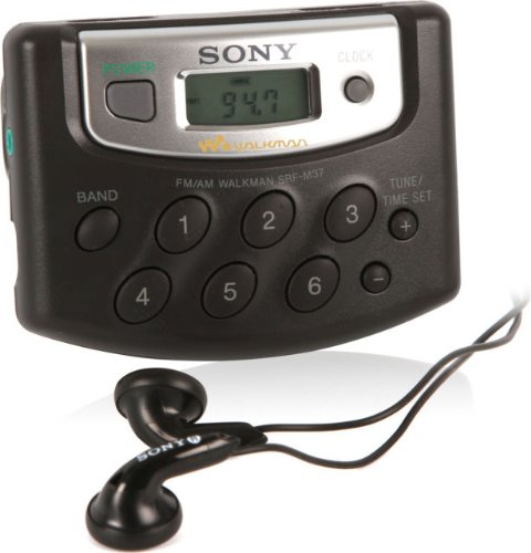 Sony Walkman Digital Tuning AM/FM Radio (SRF-M37)