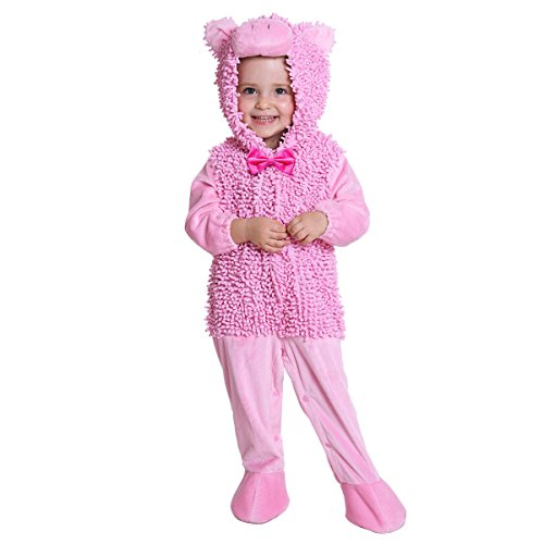(JFEELE Piggy Costume for Baby Boys and Girls - Perfect Cosplay & Theme Party Dress Up Outfit Gift (0 to 6)