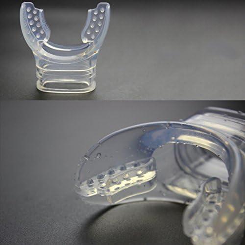CUTICATE Faltbarer Silikon Unterwassertauch Schnorchel Atemschlauch Nasse Ausf/ührung