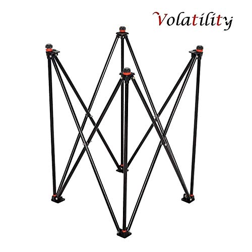 Volatility Foldable Height Adjustable Carrom Board Stand Professional Easy Fold Hydraulic Premium Quality for Carom (B07X8QN8HC) Amazon Price History, Amazon Price Tracker