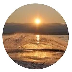 alfombrilla de ratón puesta de sol wakeboard - ronda - 20cm