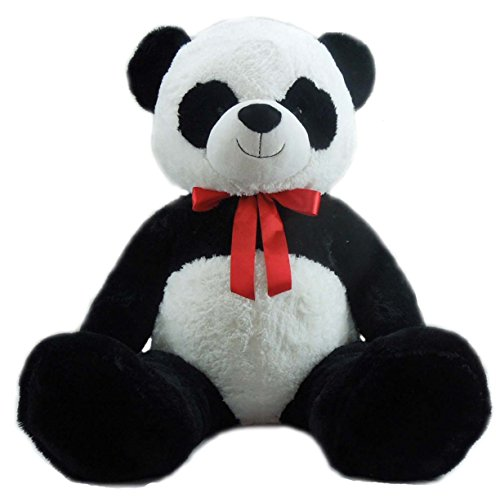 Giant Panda with Red Ribbon, 52