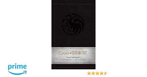 Amazon.com: Game of Thrones: House Targaryen Ruled Pocket ...
