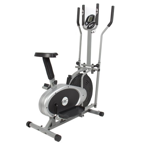 Elliptical Bike 2 IN 1 Cross Trainer Exercise Fitness Machine Upgraded Model Best Choice Products