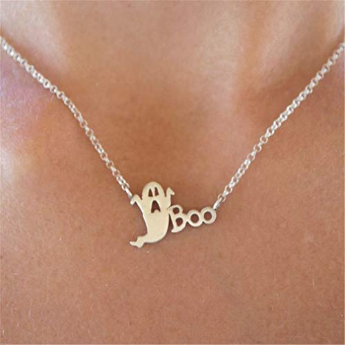 Essencedelight Necklaces for Women Necklace Choker Jewelry Necklaces Halloween Silver
