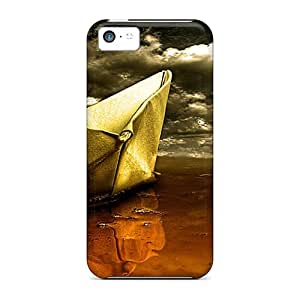 New Paper Boat Cases Covers, Anti-scratch Qjf6103qiIP Phone Cases For Iphone 5c