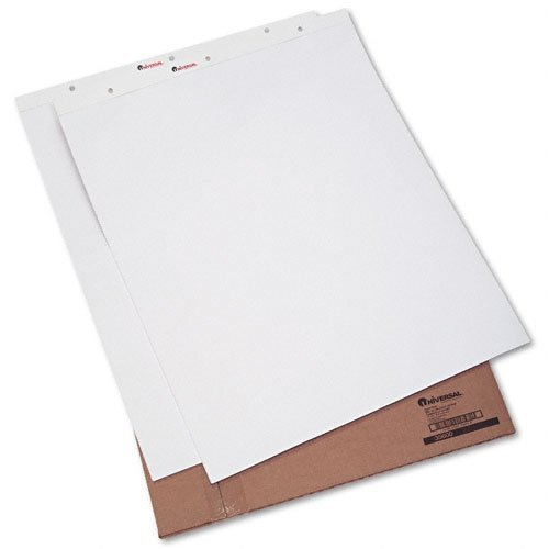 Universal Recycled Easel Pads, Unruled, 27 x 34, White, 50-Sheet 2/Carton (35600) by Universal by Universal