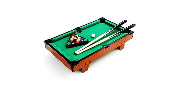 Mini tablero piscina Set Juguete mesa de billar Mesa de escritorio ...