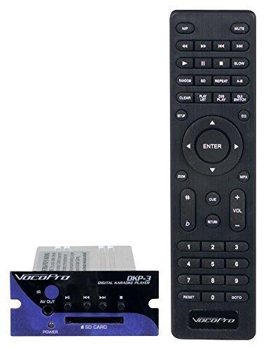 VocoPro MOBILEMANKARAOKE SD - Karaoke System - with DKP-3 DKP-3 System Compact SD Card [並行輸入品] B07MKX1322, フューチャーロード:cc814292 --- kapapa.site