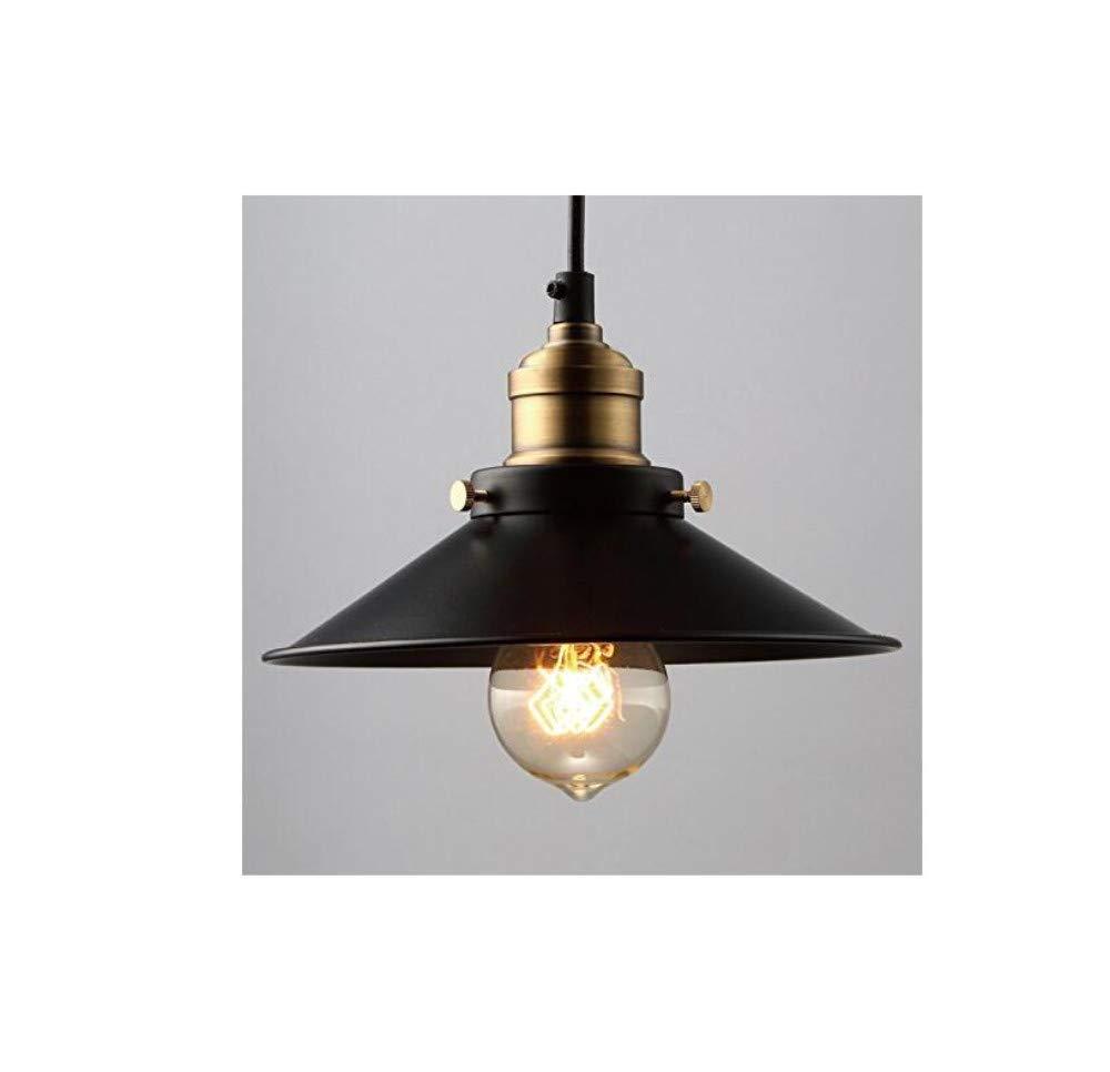 Wand Lampvintage Industrielle Metall Schwarz Bronze Loft Bar Deckenleuchte Schatten Retro Pendelleuchte
