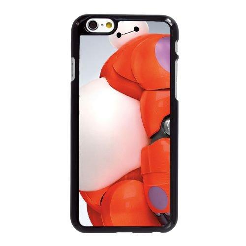 I5H45 grand héros de six M2N6WL coque iPhone 6 4.7 pouces cas de couverture de téléphone portable coque noire KM1KUK9KK