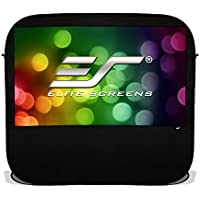 Elite Screens Pop-up Cinema Series, 84-inch 16:9, Portable Spring Indoor Outdoor Camping Projector Screen, POP84H