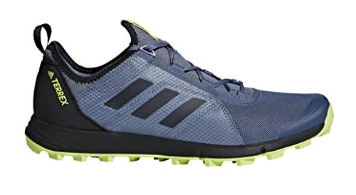 adidas outdoor Terrex Agravic Speed Trail Running Shoe - Men's Raw Steel/Black/Solar Slime, 11.5 ()