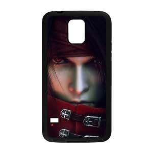 Vincent Valentine Dirge Cerberus Final Fantasy VII para funda Samsung Galaxy S5 funda caja del teléfono celular cubre negro