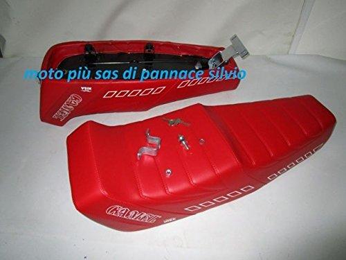 SELLA CAMEL ROSSA PER VESPA PK 50S - 50-125XL NISA