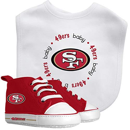 - Baby Fanatic Bib and Prewalkers Set, San Francisco 49ers