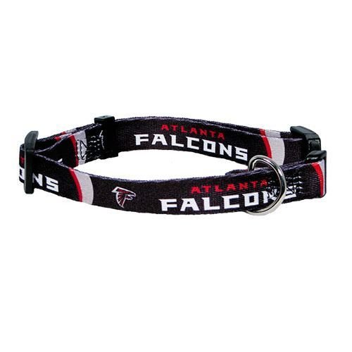 Atlanta Falcons Pet Dog Adjustable Collar All Sizes (Medium)