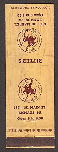 Ritter's Knight-Craft 187-191 Main St Emmaus PA (Emmaus Pa)