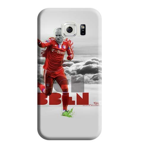 Phone Carrying Skins Appearance Perfect Design High-definition Arjen Robben Samsung Galaxy S6