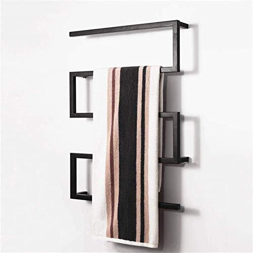 NJOLG Bathroom radiators Towel Warmer,Towel Warmer, Electric Heated Towel Rack 304 Stainless Steel with Square Bars…