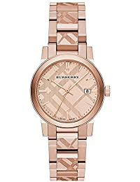 BU9235 26mm Gold Plated Stainless Steel Case Rose Gold Gold Plated Stainless Steel Synthetic Sapphire Womens