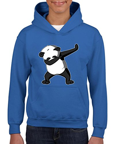 Artix Dancing Panda Birthday Gifts Fashion People Couples Gifts Best Friend Gifts Unisex Hoodie For Girls and Boys Youth Kids Sweatshirt Clothing Large Royal (Minecraft Kids Hoodie)