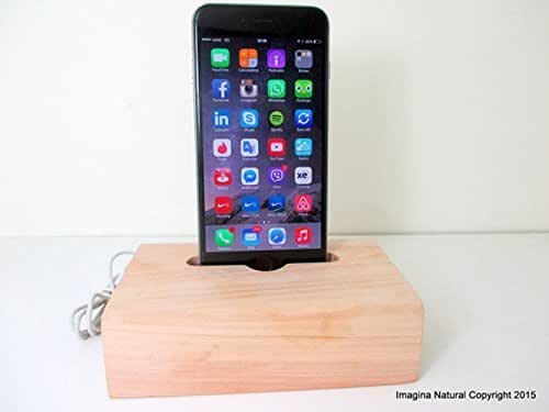 wooden iphone docking station iphone 5 charger cypress wood stand wooden 16526