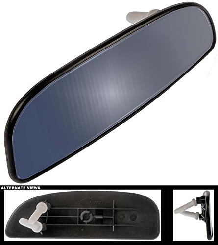 APDTY 67431 Mirror Glass Fits Lower Left On Select 99-07 Ford Trucks w/Trailer Tow Package (See Description For Details; Replaces YC3Z-17K707-CB, YC3Z17K707CB)