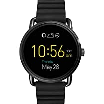 Fossil Q Wander Gen 2 Touchscreen Black Silicone Smartwatch
