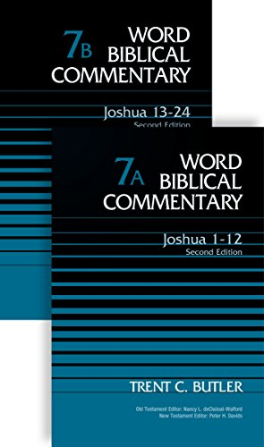 Joshua (2-Volume Set---7A and 7B): Second Edition (Word Biblical Commentary)