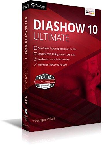 Price comparison product image DiaShow 10 Ultimate: Die Foto- und Videosoftware für beste Präsentationen