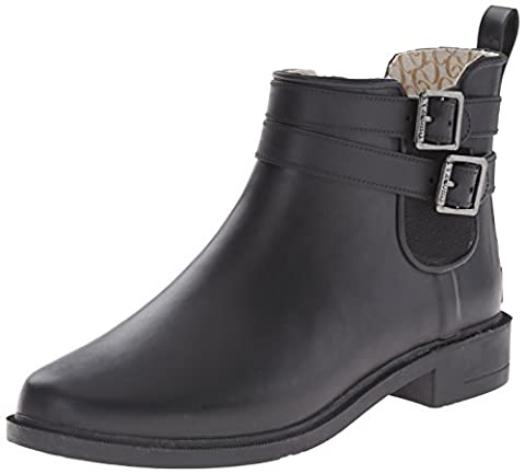 Chooka Women's Dakota Rain Boot, Black, 7 M US