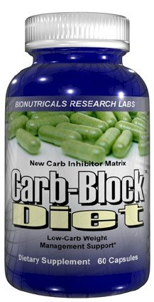 Carb Diet-Block - 60 capsules Carb Blockers Atkins