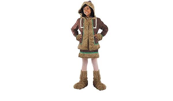 DISBACANAL Disfraz Esquimal niña - Único, 6 años: Amazon.es ...
