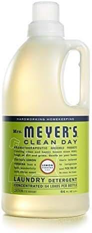 Mrs. Meyer's Laundry Detergent Lemon Verbena, 64 OZ