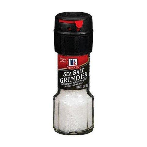 McCormick Sea Salt Grinder 2 12