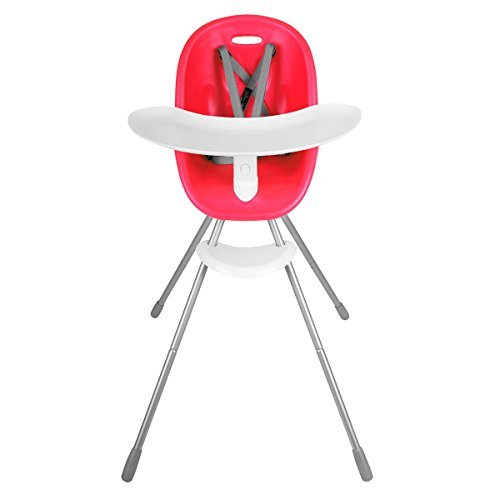 Phil&teds Poppy High Chair - Cranberry High Heel Chair by phil&teds