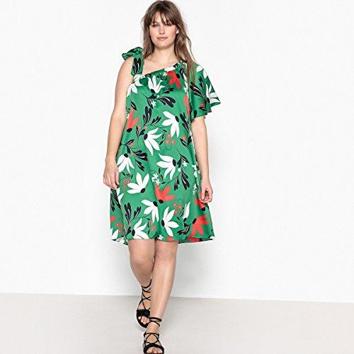 Ausgestellter La Frau Geblumtes Redoute Castaluna Bedruckt Kleid Mit Schnittform YZrSYwq