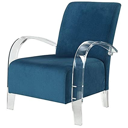 Enjoyable Amazon Com Acme Furniture 59585 Malyssa Accent Chair Teal Gmtry Best Dining Table And Chair Ideas Images Gmtryco
