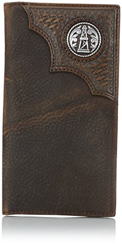 Ariat Men's Oil Rig Concho Rodeo, Aged Bark, One Size ()