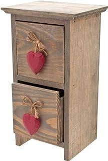 Piccoli Cuori Hanging Cassetti / Jewellery Box